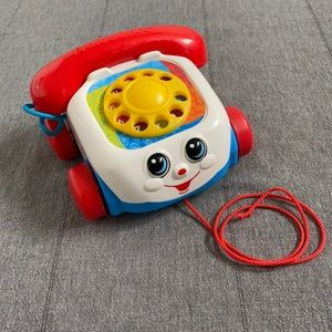 Fisher Price Pull Along Phone Toy